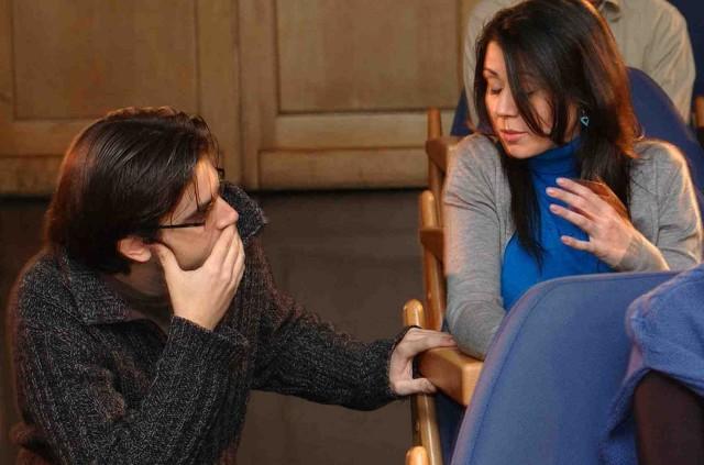 Aina Requena habla con director en 7 días