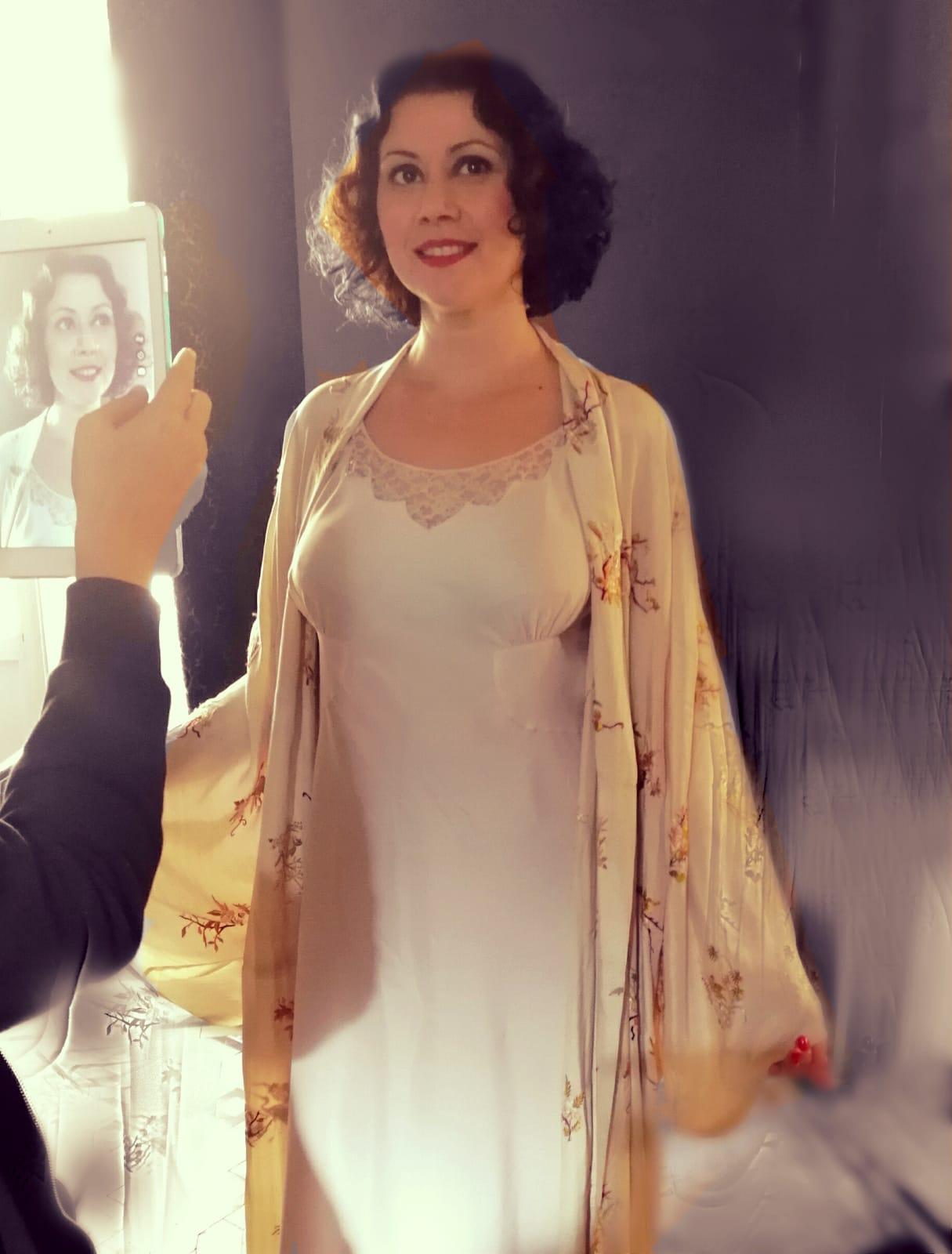 Aina Requena en Parany años 30