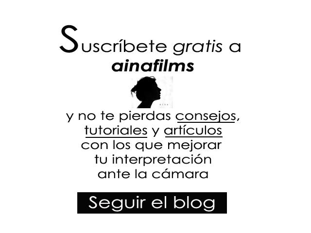Suscripción al blog ainafilms.es