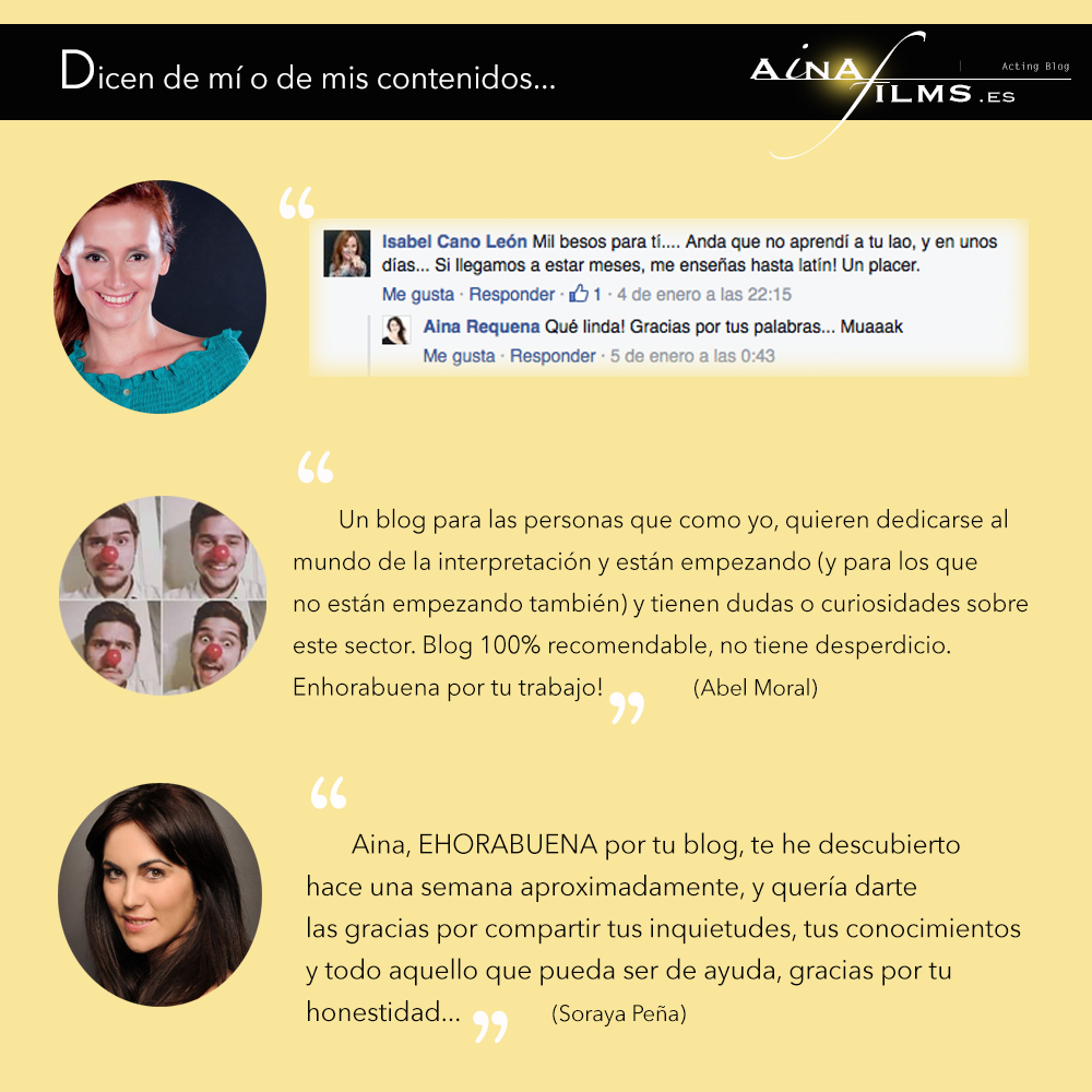 blog de actores