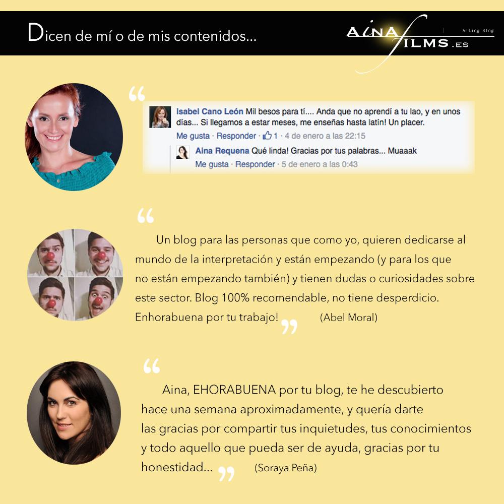 blog de actores