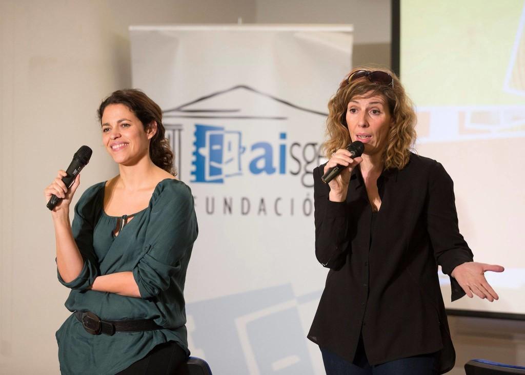 Eva Leira y Yolanda Serrano directoras casting en la charla para actores
