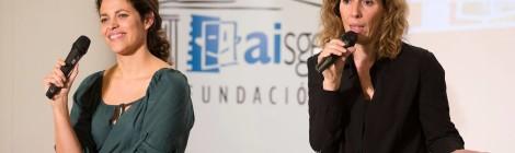 Eva Leira y Yolanda Serrano dierctoras casting en la charla para actores