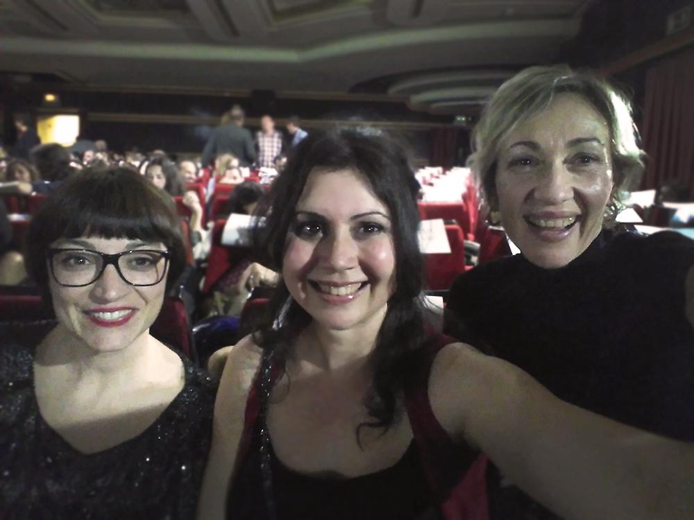 Aina Requena, Cris Blanco y Carme Pla en estreno El Olivo