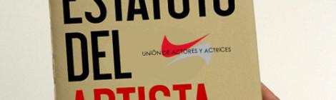Estatuto del artista para actores UA
