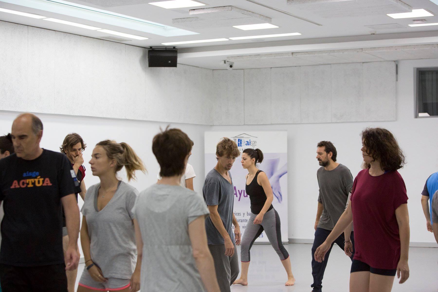 Danza para actores y actrices